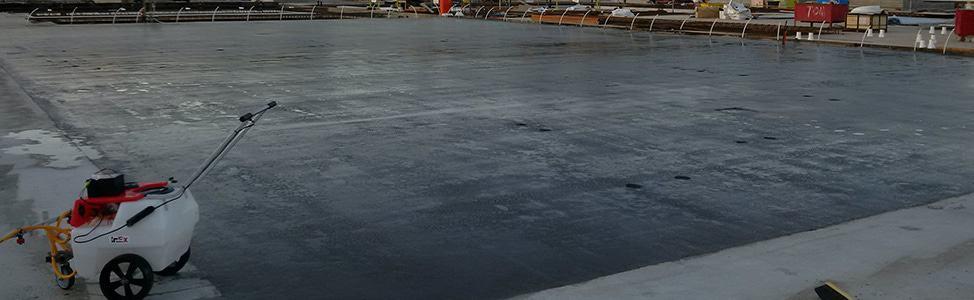Aquron penetrating hydrogel treatments for concrete have many benefits