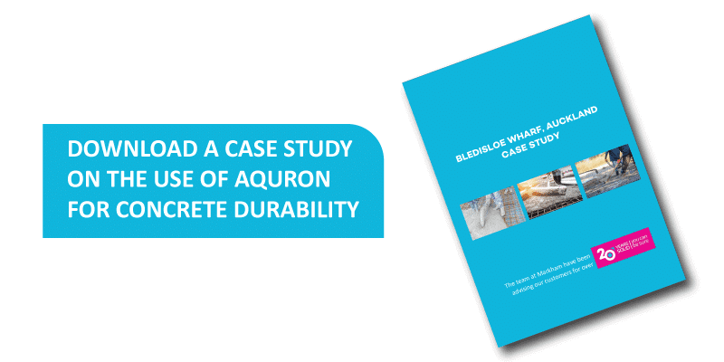 Download a case study on the use of Aquron 7000 at Bledisloe Wharf Port of Auckland